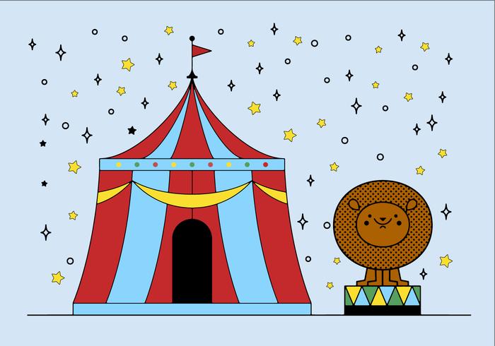 Vecteur de cirque gratuit