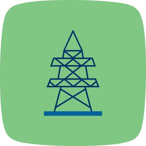 Elektrisk torn Vector Icon