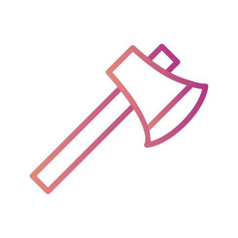 Icona di vettore di ascia