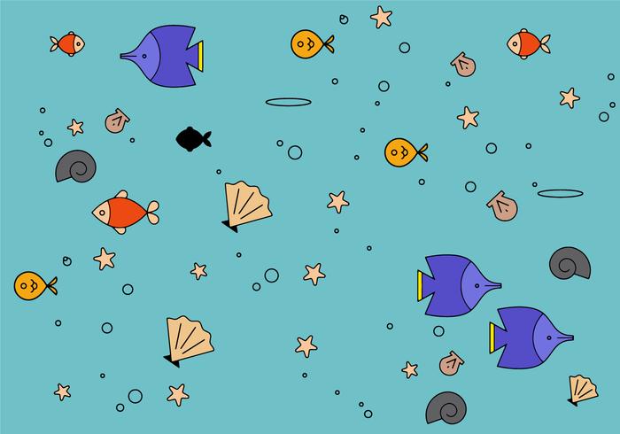 Gratis zee Vector