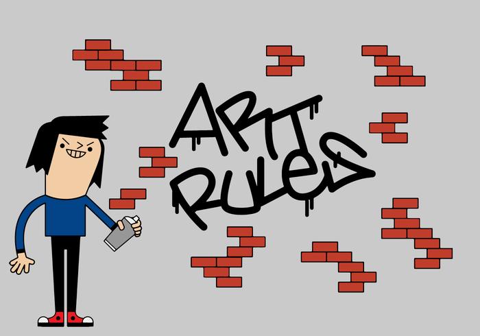 Free Graffiti Vector - Download Free Vector Art, Stock Graphics & Images