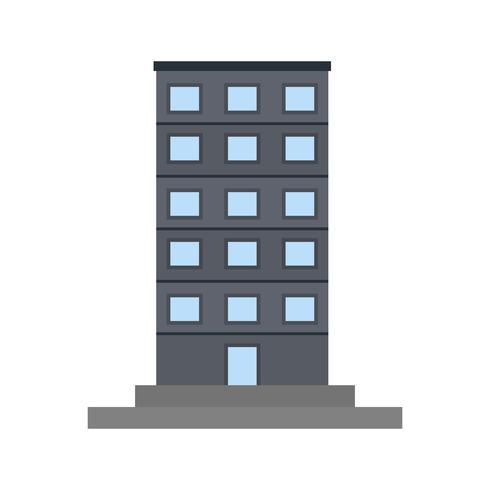 Ícone do vetor de Skycraper