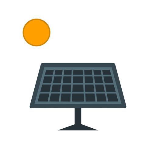Zonne-energie Vector Icon