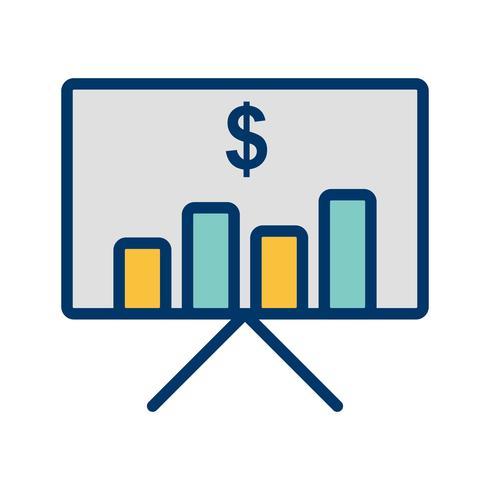 Plan de negocios Vector icono