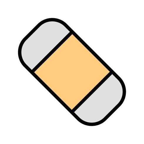 Vektor-Radiergummi-Symbol
