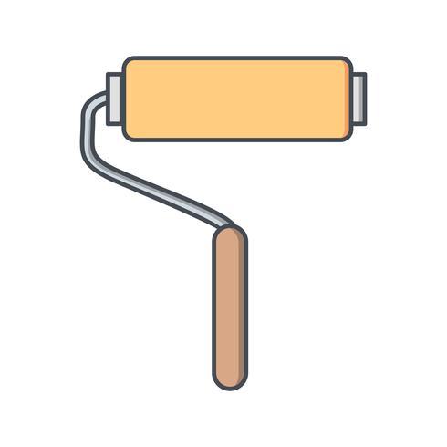 Verfroller Vector pictogram