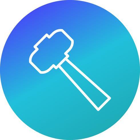 Hammer-Vektor-Symbol