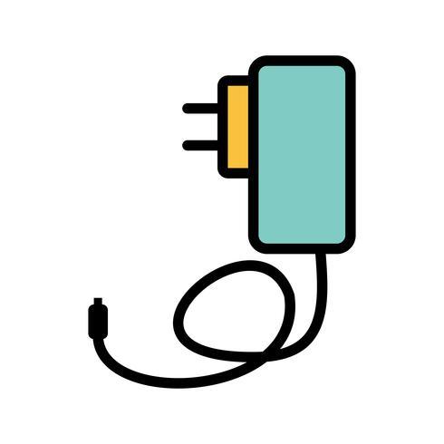Mobile Ladegerät Vektor Icon