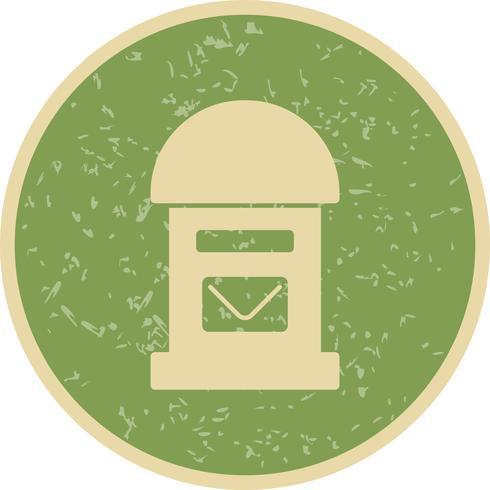 Vektor-Postfach-Symbol