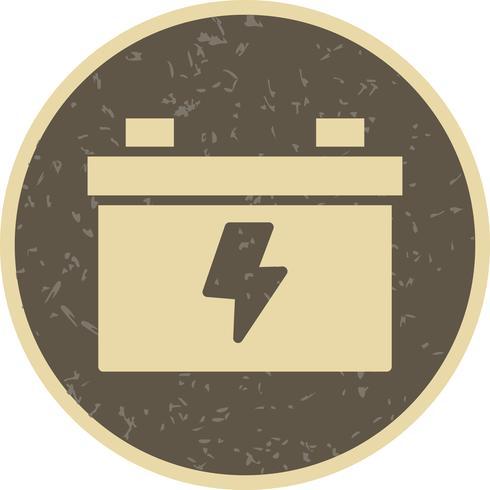 Icône de vecteur de batterie