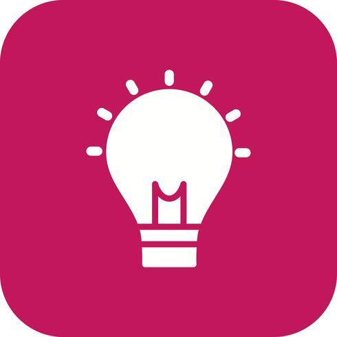 Icona di vettore di idea