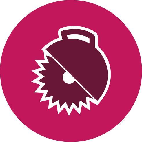 Icona di vettore della sega circolare
