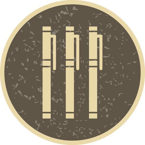 Ícone de marcadores de vetor