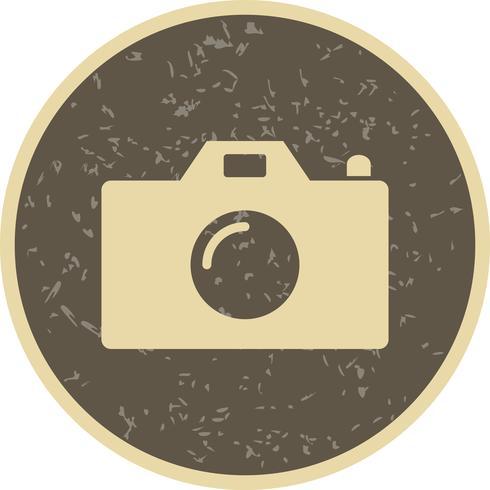 Icono de vector de camara