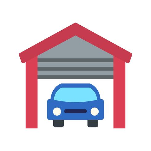 Garage-Vektor-Symbol