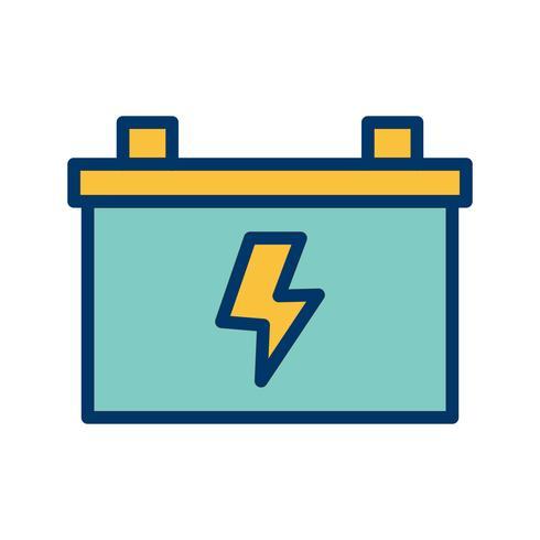 Ícone de vetor de bateria