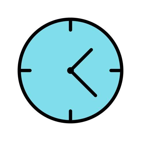 Vektor-Uhr-Symbol