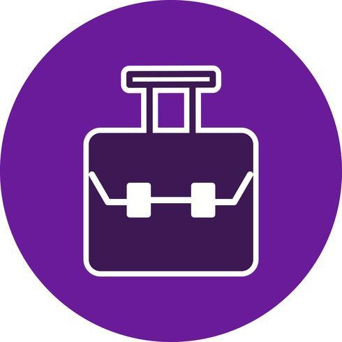 Icona della borsa vettoriale