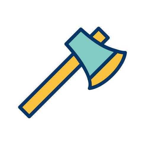 Axt-Vektor-Symbol
