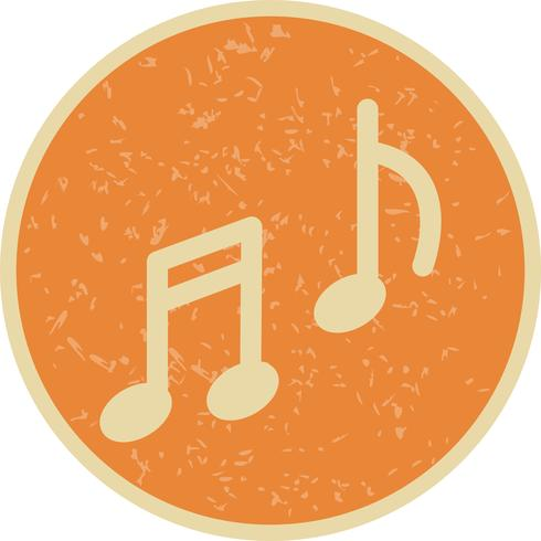 Vector muziek pictogram