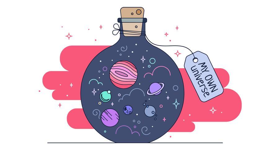 mijn eigen universumvector