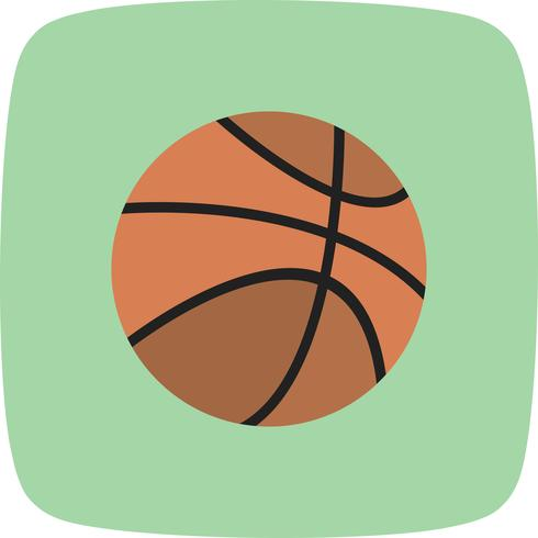 Vektor Basket Ball Symbol