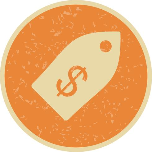 Business Tag Vector Icon