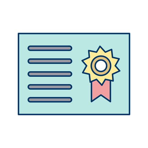 vektor certifikat vektorikonen