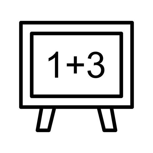 Vector wiskunde pictogram