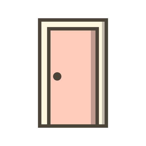 Porte vecteur icône