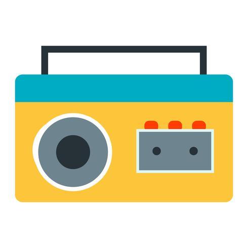 Icono de Vector de jugador de cassette