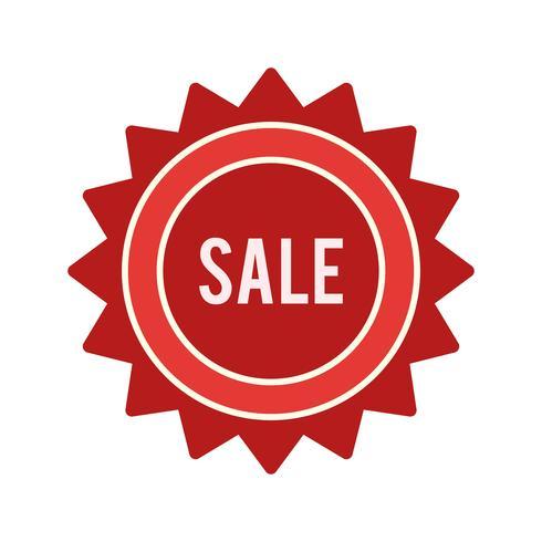 Icona di vendita vettoriale