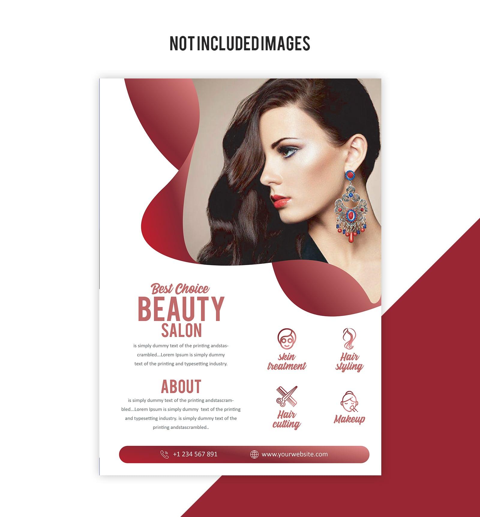 Salon Flyer Free Vector Art 134 Free Downloads