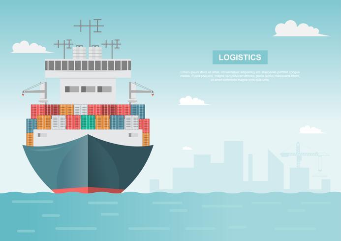 Trasporto marittimo logistico