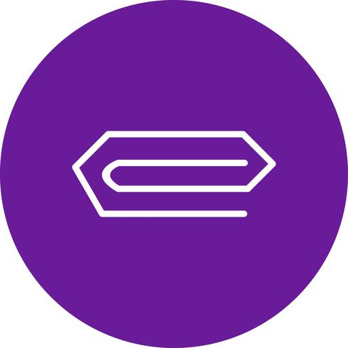 Icono de pin de vector