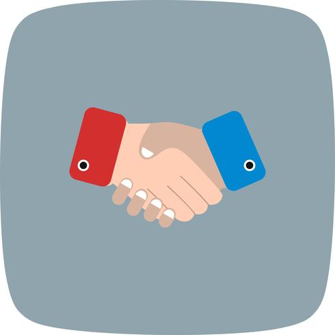 Handshake Vector Icon - Download Free Vector Art, Stock Graphics & Images