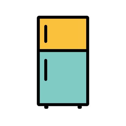 Fridge Vector Icon