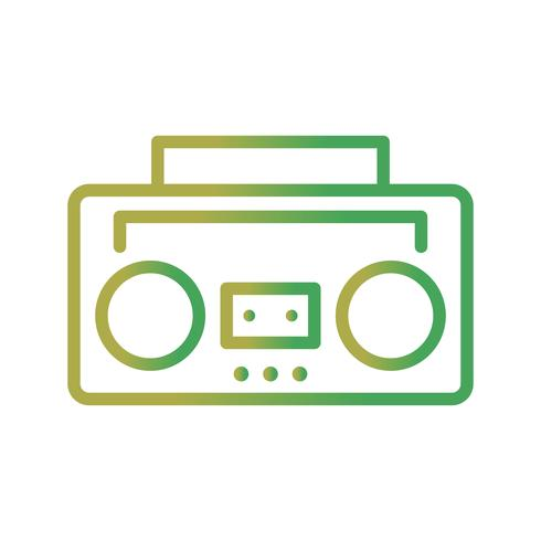 Audioband-Vektor-Symbol