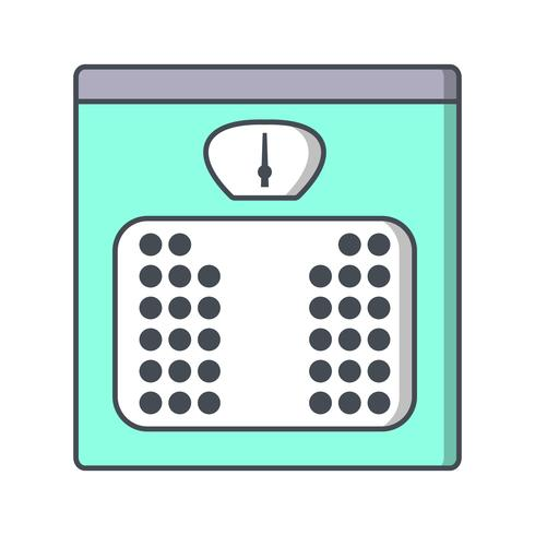 Weight Machine Vector Icon
