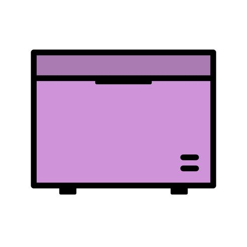Diepvriezer Vector Icon