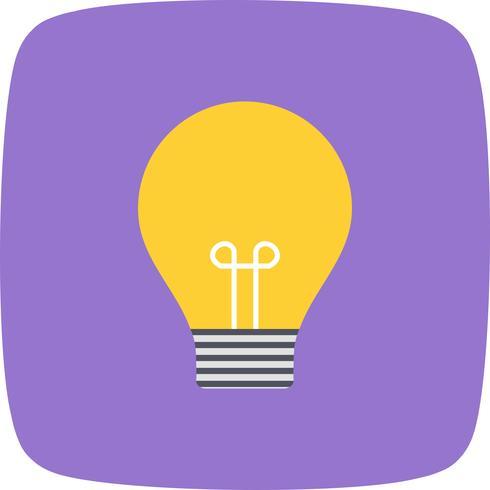 Icono de vector de idea
