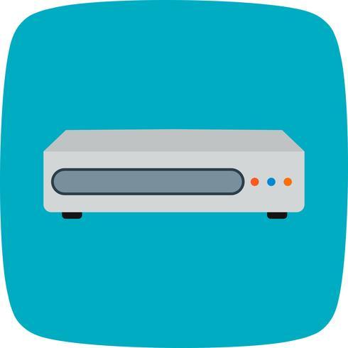 Icono de Vector de reproductor de DVD