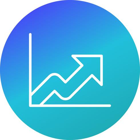 Icona di crescita vettoriale