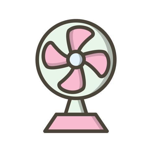 Aufladung Fan Vektor Icon