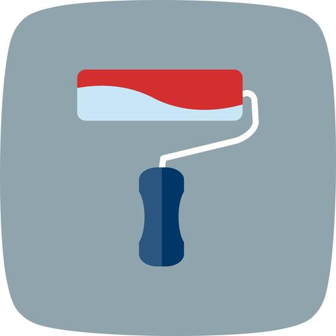 Paint roller Vector Icon