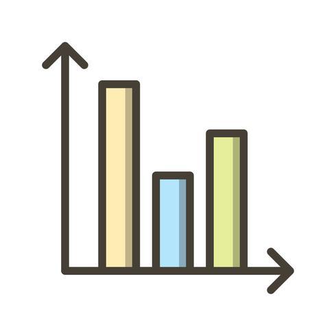Graphique à barres Vector Icon