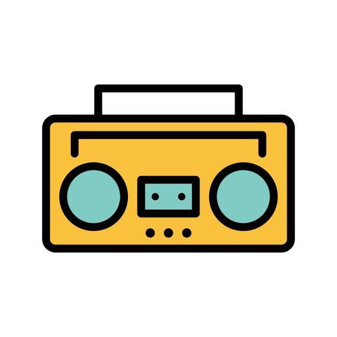 Audio Tape Vector Icon