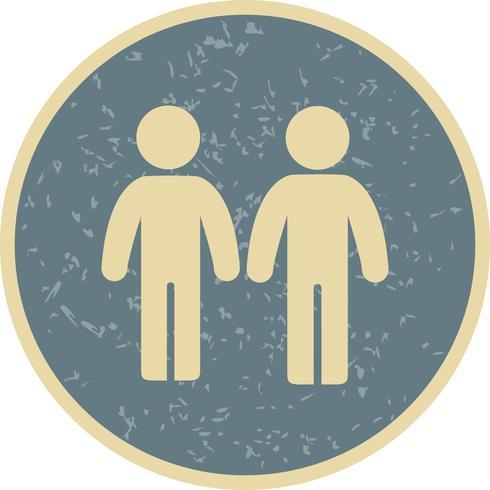 Partenariat vecteur icône