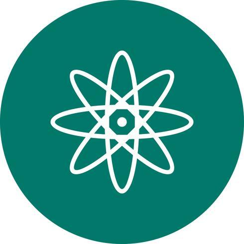 Icona di vettore Atom