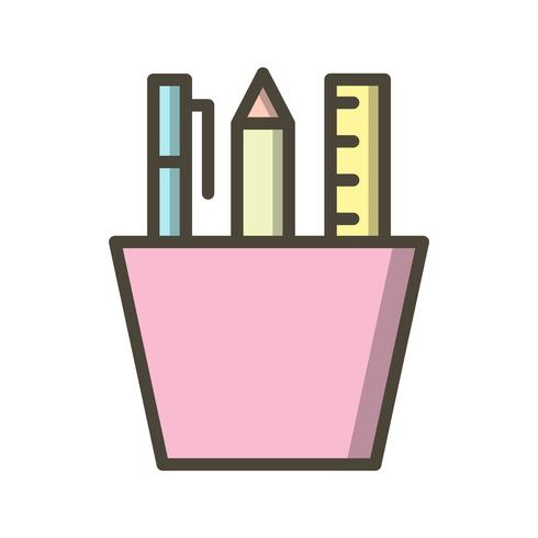 Vector Stationery Icon